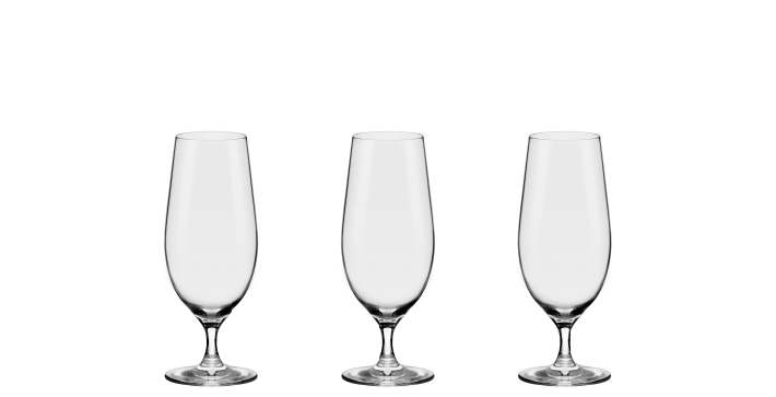Oxford Crystal Alumina - Beer Glass